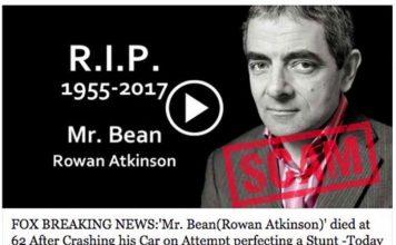 Rowan Atkinson fake news l viral-a