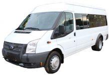 hire minibus manchester to bradford