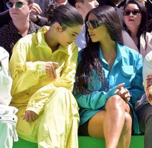 kylie-jenner and Kim Kardashian
