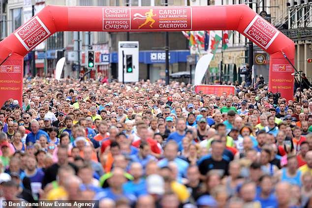 cardiff half-marathon viral-a