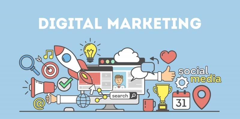 digital marketing process - viral-a