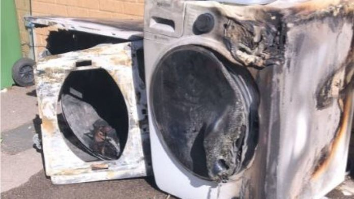 whirpool tumble dryers fire risk - viral-a